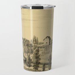Oswego County, New York 1877 Travel Mug