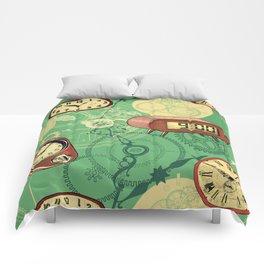 TIC TAC TIME Comforters