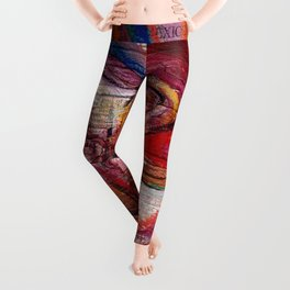 Fire (Mexico series) Leggings