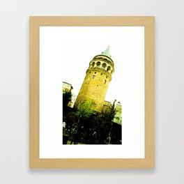 From below. Framed Art Print