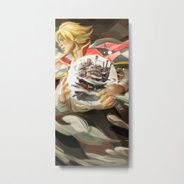 Howl's Moving Castle Metal Print