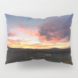 Cody Sunset Over Heart Mountain Pillow Sham