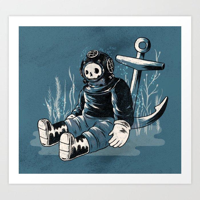 Anchors Aweigh Art Print