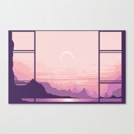 Bay Window V2 Canvas Print