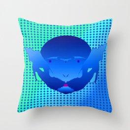 1207 Bluebeard ... Throw Pillow