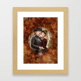 Autumn outlander Framed Art Print