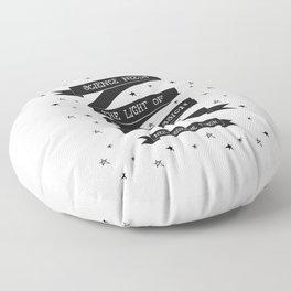 Light [Black] Floor Pillow