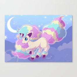 Moonlit Unicorn Canvas Print
