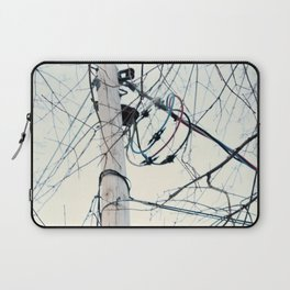Power is Cold Laptop Sleeve