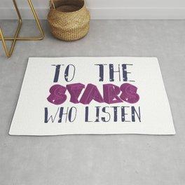 Stars Who Listen Rug