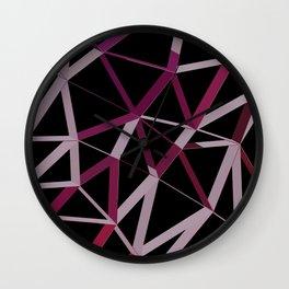 3D Futuristic GEO Lines IV Wall Clock