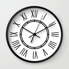 LaVogue Wall Clock - black, minimalist, golden ratio Wall Clock