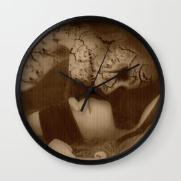 Give In To Temptation Wall Clock
