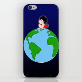 Taking over the world iPhone Skin