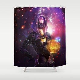 Tali'Zorah vas Normandy (Mass Effect) Art Shower Curtain