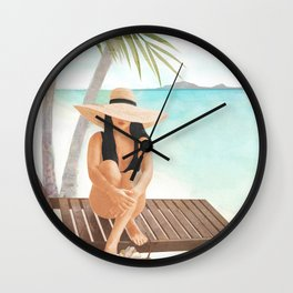 That Summer Feeling VII Wall Clock