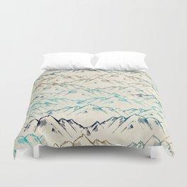 Mountains Duvet Cover