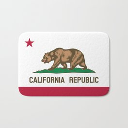 California Flag - State of California Bath Mat