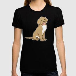 Golden Retriever Puppy Hound Gift T-shirt