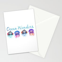 Ocean Wonders Stationery Cards
