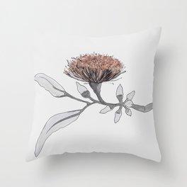 eucalyptus tereticornis Throw Pillow