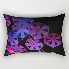 purple paper ponder Rectangular Pillow