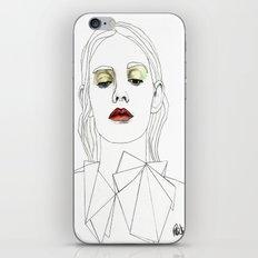 Red Lipstick iPhone & iPod Skin