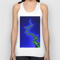 climbing Tank Tops featuring tree climbing by donphil