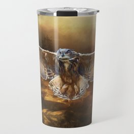 Owl Flight Travel Mug