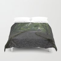 italian Duvet Covers featuring Italian forest by F130284