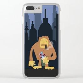 Nagmamahal, Kapre (Philippine Mythological Creatures Series) Clear iPhone Case