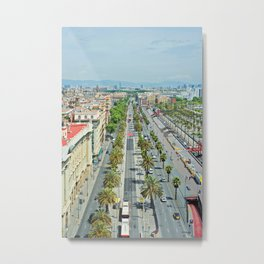 Barcelona from above Metal Print