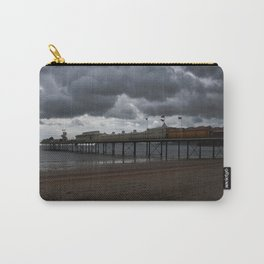 Dark Clouds Over Paignton Pier Carry-All Pouch