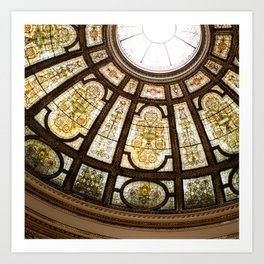 Glory - The Chicago Cultural Center Art Print