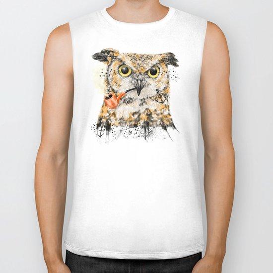 Mr.Owl II Biker Tank