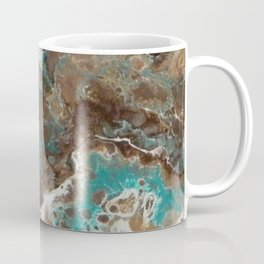 Water Flow, Abstract Acrylic Flow Art Coffee Mug