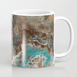 Water Flow, Abstract Acrylic Flow Art Coffee Mug