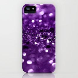 Purple Lady Glitter #1 #shiny #decor #art #society6 iPhone Case