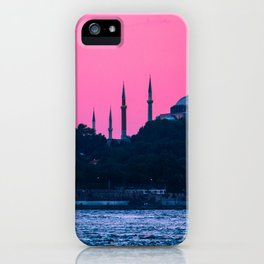 Istanbul Sultanahmed and Ayasofya Mosques iPhone Case