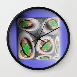Dimanche Matin Wall Clock