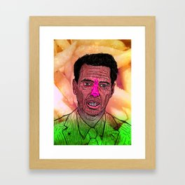 """The one and only Steven Vincent """"Steve"""" Buscemi  Framed Art Print"""