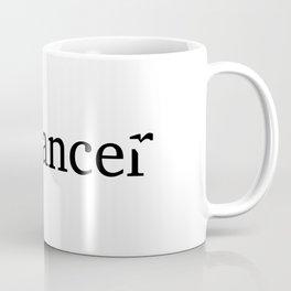 freelancer, flying bird Coffee Mug