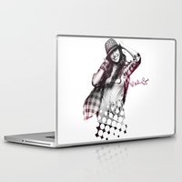 miley cyrus Laptop & iPad Skins featuring Miley Cyrus by mileyhq