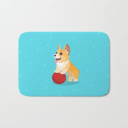 Standing on a Ball Corg Bath Mat