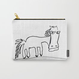 Grumpy Horse Carry-All Pouch