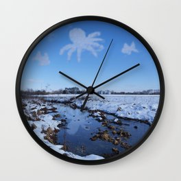 Day Dreamin' Wall Clock