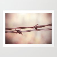the wire Art Prints featuring Wire by Alise Carter