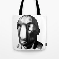 men Tote Bags featuring men before men by massimo bianchi