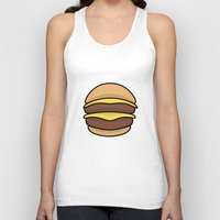 burger Tank Tops featuring BURGER by KODYMASON