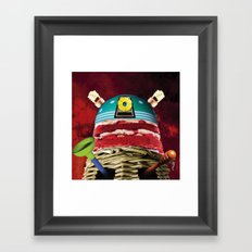 The vilest creatures of time and space Framed Art Print